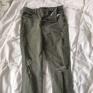 GREEN EXPRESS JEANS